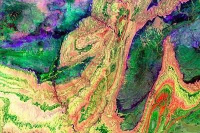 Топ 10 от трите милиона снимки на НАСА, направени с ASTER