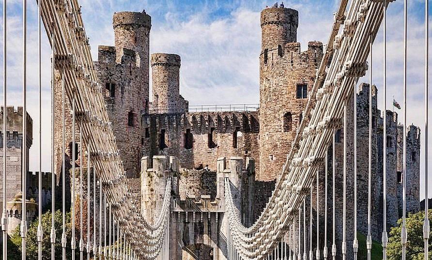 Замъкът Конуи Снимка: Traveling Light, Alamy Stock Photo