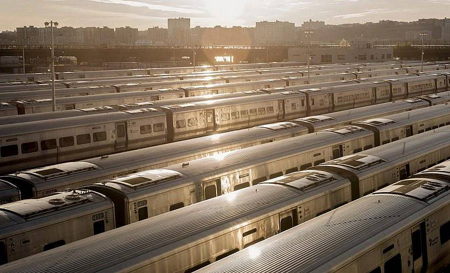 Празни влакове в Ню Йорк сити Снимка: Jason LeCras