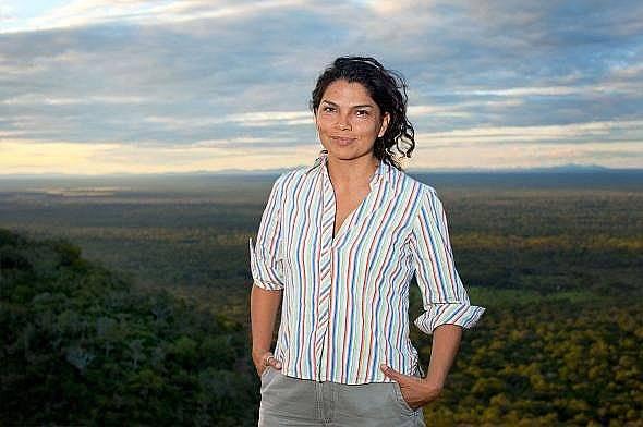 Ерика Куелар вярва, че е невъзможно горите на Гран Чако да се съхранят без подкрепата на местните хора.  Снимка: Тиери Гробе, Rolex Awards