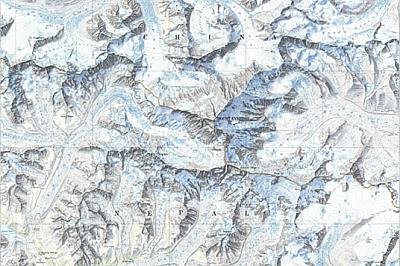 Защо планините изглеждат високи на картите?