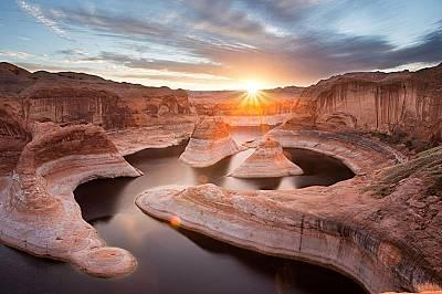 """Национален парк """"Глен Кениън"""", САЩНосителят на голямата награда, Янг Лу, прави тази снимка в Националния парк """"Глен Кениън"""", който..."""