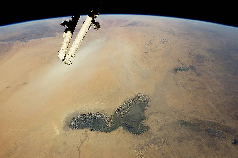 Езерото Чад и пясъците на Сахара