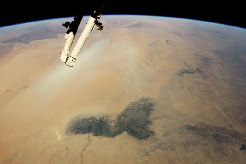 Земята през обектива на астронавти от Международната космическа станция