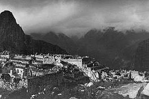 Първите снимки на Мачу Пикчу
