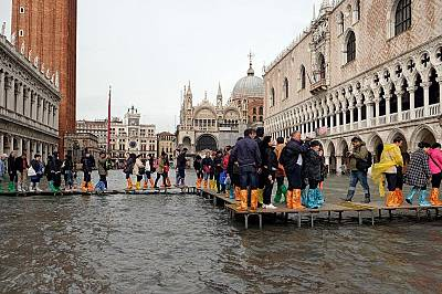 Наводнената Венеция - галерия