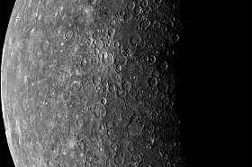 Първата снимка на Меркурий Първата снимка на Меркурий