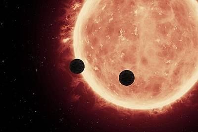 """Телескопът """"Хъбъл"""" за първи път надникна в атмосферата на скалисти планети"""