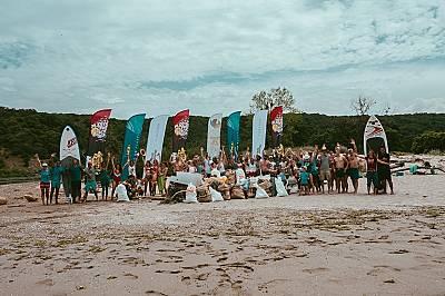 Почистиха плаж Ропотамо с подкрепата на National Geographic