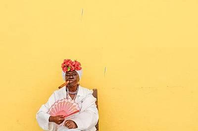 Като шефКубинка в Хавана