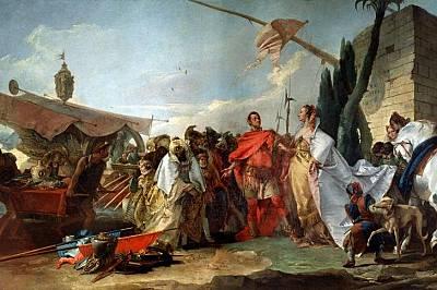 КЛЕОПАТРА И ЮЛИЙ ЦЕЗАР През 48 г. пр.Хр. 21-годишната Клеопа