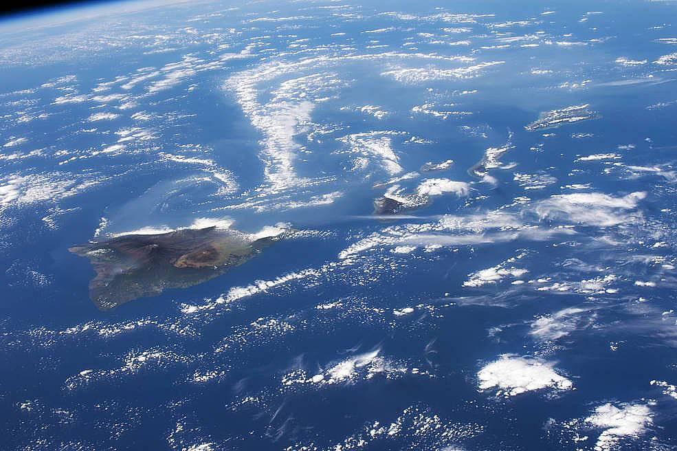 Вулканите Вог и Вортикес, Хавай