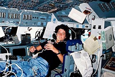 Сали Райд, първата американка в космоса, 18-24 юни, 1983