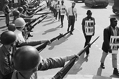 Стачка в Мемфис, 1968 г.Стачка на чистачите в Мемфис на 28 март, 1968 година