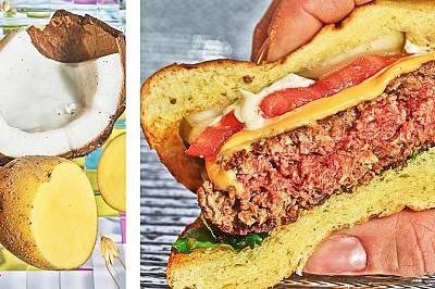 Месо от растения в бургери