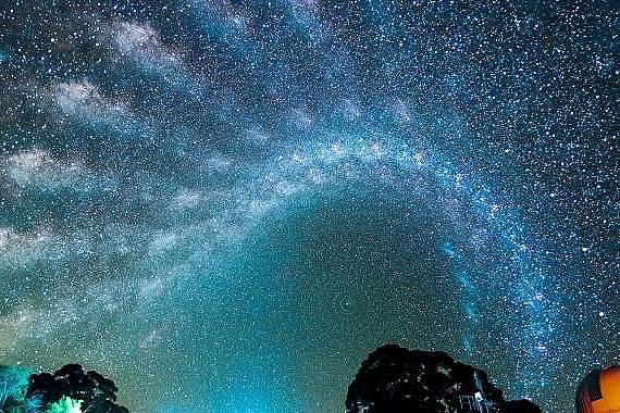 Уникални снимки на Млечния път