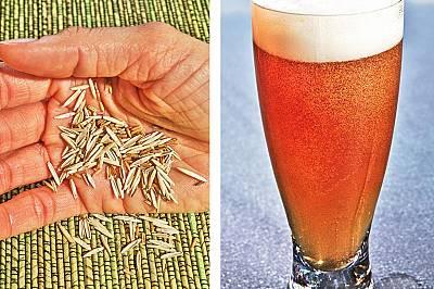 Четинсет пирей в хляба и бирата