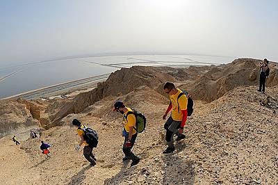 Пещерно-изследователска експедиция в солните пещери на Израел