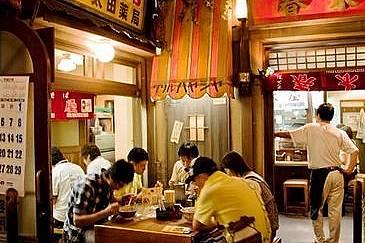 """Музеят на оризовите спагети """"раумен"""" - първият в Япония музей, посветен на храната."""