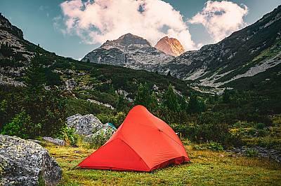 "Специална награда,  ""Below the peak"" на вр. Мальовица в Рила"
