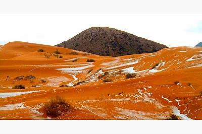 Сняг в Сахара