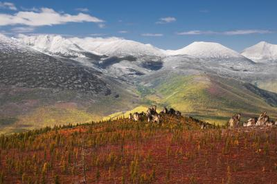 Есен в якудските планини – вероятно най-живописните в цяла Русия.