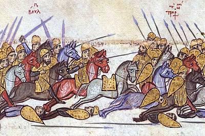 Ахелой  Великата битка на Симеон Велики
