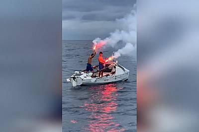 Българи прекосиха Атлантическия океан с гребна лодка