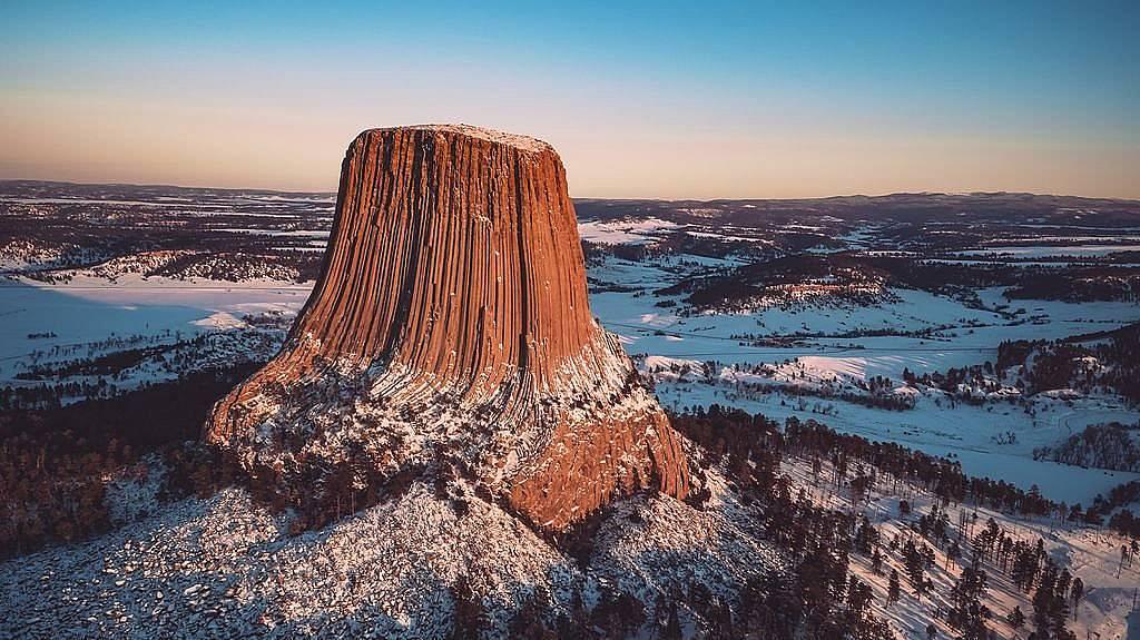 """Национален парк """"Дяволската кула"""", САЩ"""