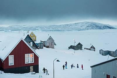 Радостта от снега, споделена в колекционерски снимки