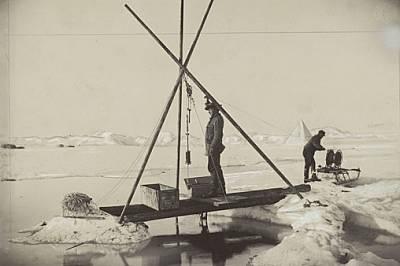 12 юли 1894 г.: Нансен измерва температурата на водата на голяма дълбочина в Северния ледовит океан. Систематично се събирали астрономически, метеорол...