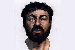 Реконструкция на лицето на Иисус според екипа на Ричард Нийв.