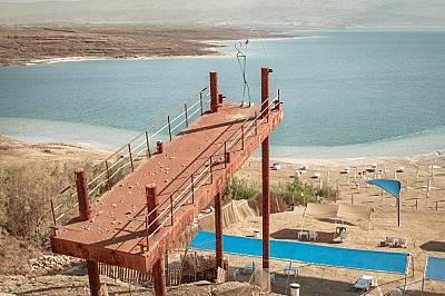 Мъртво море намалява изключително бързо