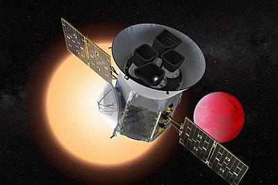 Сателитът Transiting Exoplanet Survey или TESS.