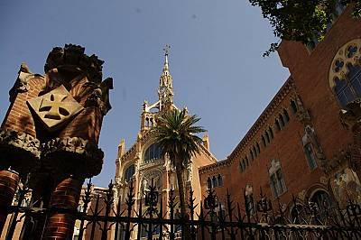 Болничният комплекс Hospital de Sant Pau е едно от скритите бижута на Барселона.