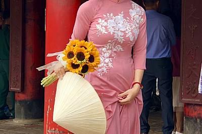 Студентка с Храма на Литературата, Ханой