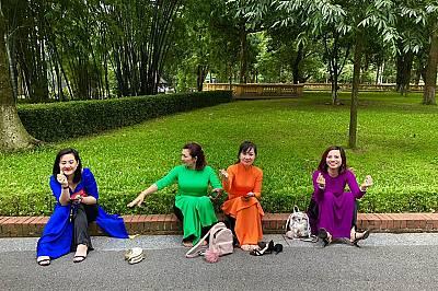 Красота, облечена в ао дай - традиционна виетнамска носия