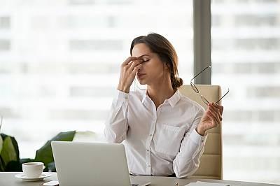 2. След изтощителни и ежедневни дейности настъпва тежка умора.