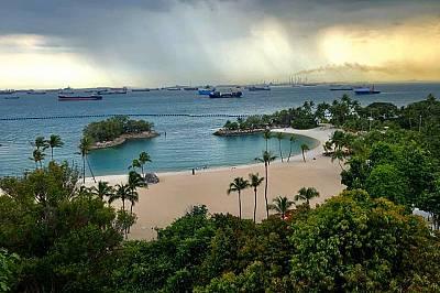 Моето пътуване към Индонезия започна с двудневен престой в Сингапур
