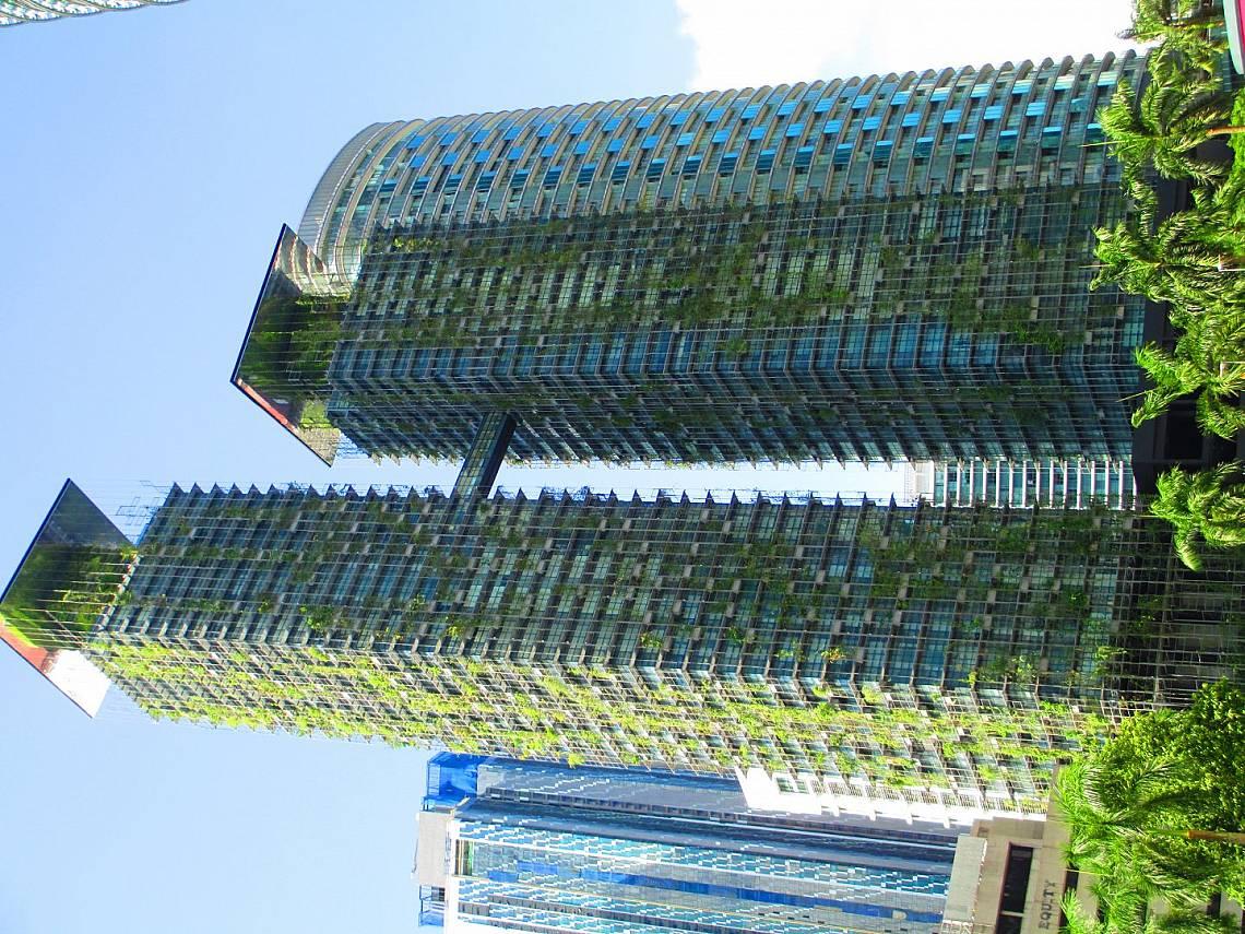 Хармония между модерно строителство и природа, Куала Лумпур