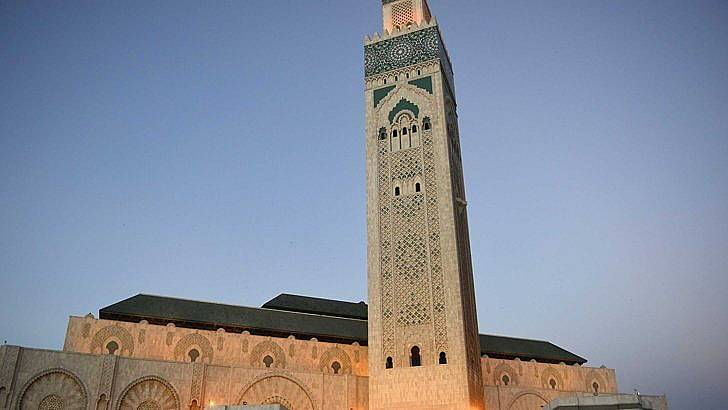 Джамията Хасан II в Казабланка.  Снимка: БГНЕС