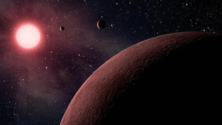 Според проф. Хокинг човечеството трябва да се пресели на други планети с растения и насекоми от Земята. Илюстрация: БГНЕС