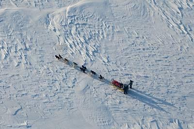 На терен, където 10 км/ч се счита за висока скорост, екип с кучешки впряг прекосява бързо пролива Шанън. Когато стихиите са свирепи, изминав...