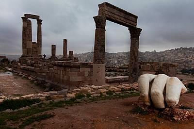 Аман, Йордания Импозантната архитектура и изкуство следвали римските армии до най-далечните краища на империята. Свитите пръсти били част от...
