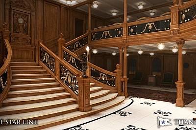 """""""Титаник II"""" ще пресъздаде оригиналния исторически интериор на прешественика си."""