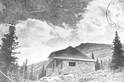 """Хижа """"Алеко"""", 1924 г."""