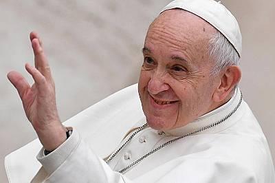 Папа Франциск е на българска земя