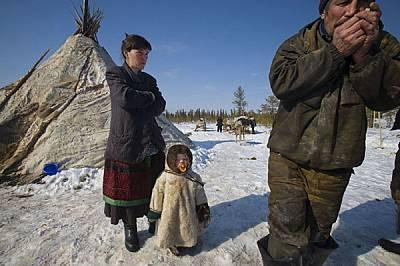 За традиционния начин на живот на местните пастири са нужни северни елени и свободни пространства. Сондажните кули и тръбопроводите преграждат достъпа...