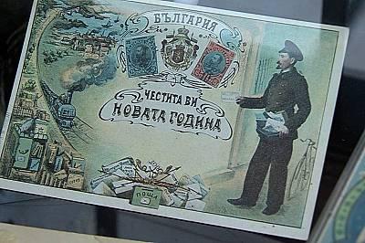 Коледа в старите пощенски картички