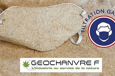 Френска компания пуска предпазни маски от канабис